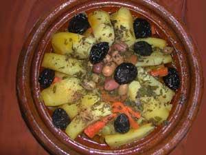السياحة في لؤلؤة المغرب قرية مير اللفت cuisine2.jpg